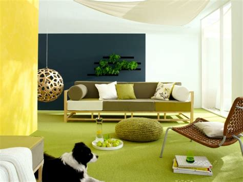 ideen fürs schlafzimmer senfgelb und blau wandfarben kombinationen machen spa 223