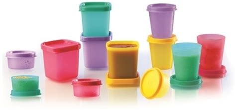 Tupperware Kitchen Set Price In India by Tupperware Small Is Beautiful Set Smidget Midgets