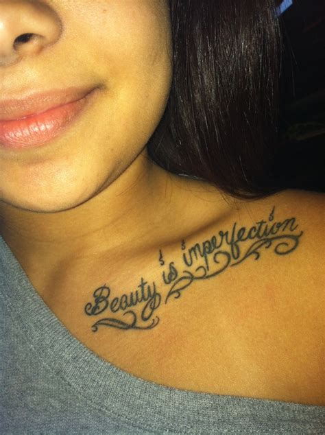 collar bone tattoos for females my collar bone
