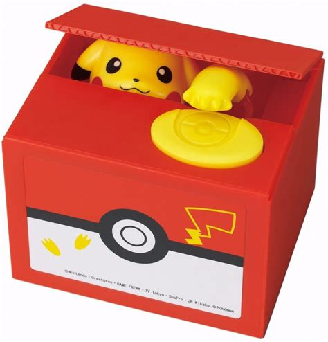 mon you bank giveaway a pikachu coin bank pok 233 community daily