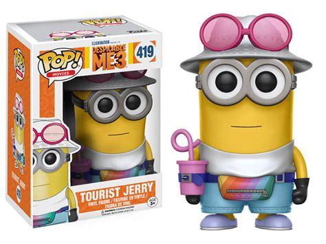 Pop Minions Tourist Jerry pop despicable me 3 tourist jerry
