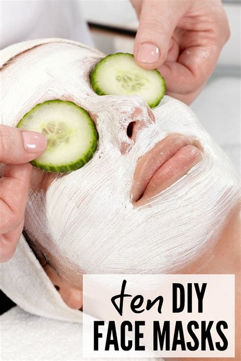 diy spa mask 10 easy diy masks for busy