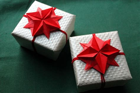How To Make A Origami Present - origami gifts tutorial origami handmade