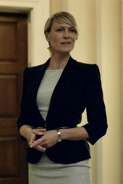 robin wright claire underwood robin wright best robin wright haircut single button blazer robin wright robins and cards