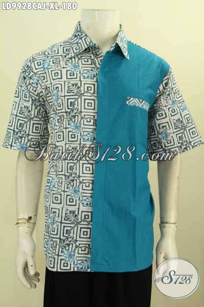 Jaket Pria Kombinasi Jaket Gaul model baju batik pria kombinasi unik model baju batik