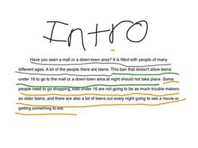 Writing An Essay Introduction by How To Write An Introduction To An Essay