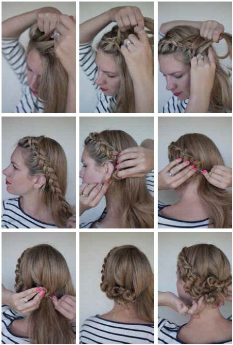 step by step directions for styling short hair the dutch braided twist for step by step instructions go