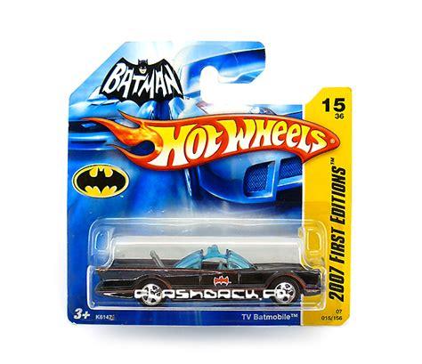 Diecast Mobil Wheels Burl Esque batman die cast batmobile tv 60 s wheels 2007