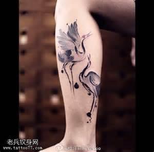 腿纹身图案