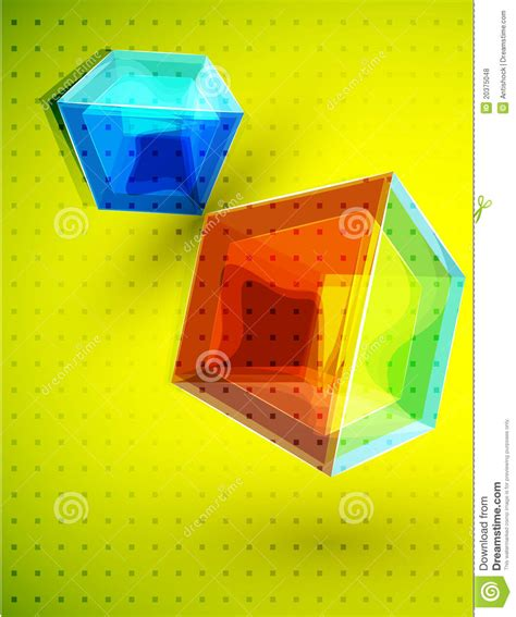 vector cube background royalty free stock photos image