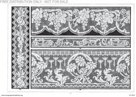antique pattern library password apl b af003 filet ancien au point de reprise xii le page 26