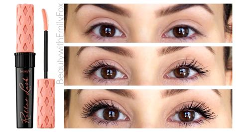 Mascara Maybelline Yang Paling Bagus benefit roller lash mascara impression review