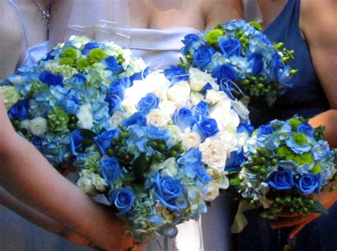 Blue Flowers For Wedding by Blue Wedding Flowers