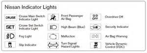 Nissan Altima Lights On Dashboard 2015