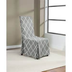 Gray Dining Room Chair Slipcovers Dining Room Chair Covers Gray Stokk
