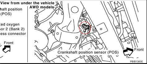 bank  sensor  location nissan xterra nissan wiring diagram images