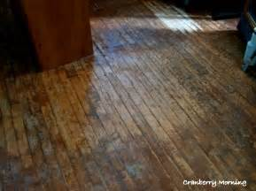 cranberry morning refinishing hardwood floors