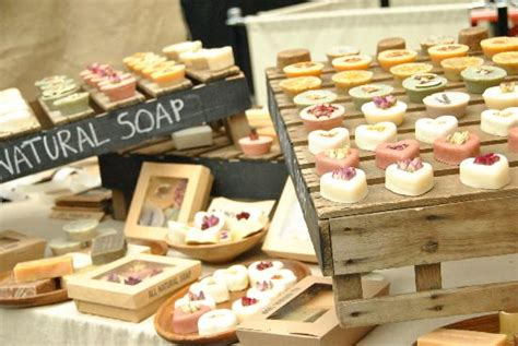 The Handmade Market - handmade soap picture of spitalfields market