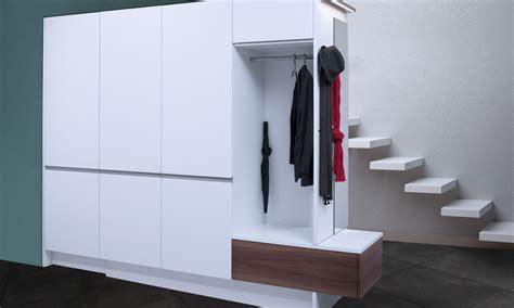 einbauschrank kombiniert mit garderobe lang k 252 chen ag - Einbauschrank Garderobe