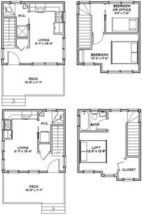 Small House Floor Plans Pdf 16x16 Tiny Houses Pdf Floor Plans 466 Sq By