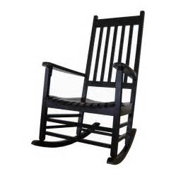 patio rocking chair shop international concepts black acacia patio rocking