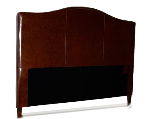 King Leather Headboard King Size Genuine Leather Headboard For Bed New Camel Back Shaped Ebay