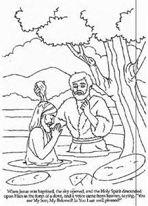baptism coloring pages baptism of jesus coloring page az coloring pages