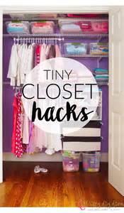 Closet Organization Hacks by Brilliant Lifehacks To Organize Your Tiny Closet
