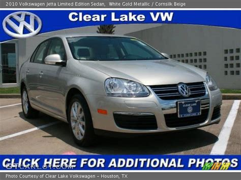 2010 Volkswagen Jetta Limited Edition by White Gold Metallic 2010 Volkswagen Jetta Limited