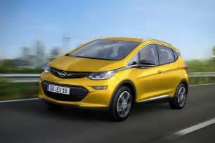 Opel E Opel Announces Era E Chevrolet Bolt Ev For 2017