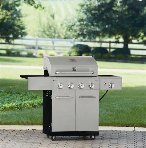 kenmore 4 burner stainless steel kenmore 4 burner stainless steel gas grill sears