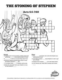 coloring pages bible stephen acts 7 the stoning of stephen kids spot the difference