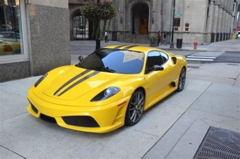 how to sell used cars 2009 ferrari f430 seat position control sell used 2009 ferrari f430 scuderia yellow over black 6k miles stripes novitec exhaust in