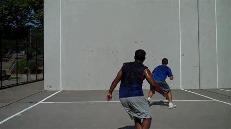 one wall mike vs severino handball one wall big blue singles youtube