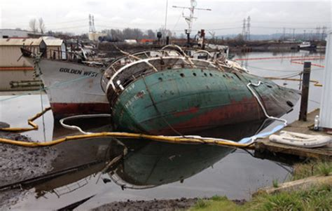 boat salvage yard seattle helena star heads for seattle scrap yard video