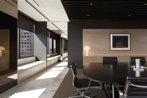 Office Interior Design by Meeting Area Of Simple But Professional Office Interior