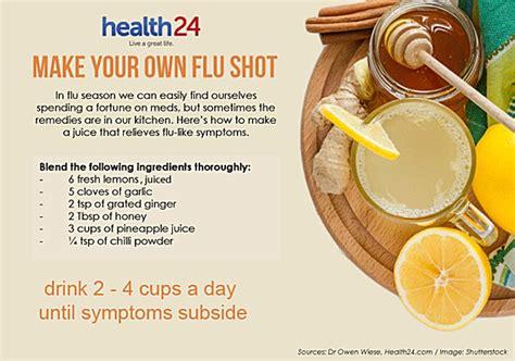 Flu Vaccine Detox Vitamin C by Make Your Own Flu Health24
