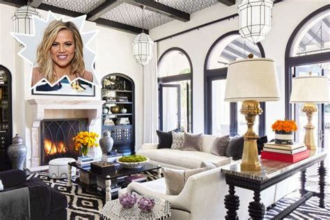khloe kardashian bedroom decor khloe kardashian s living room living rooms room and house