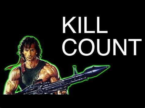 kill count how many has sylvester stallone killed in his
