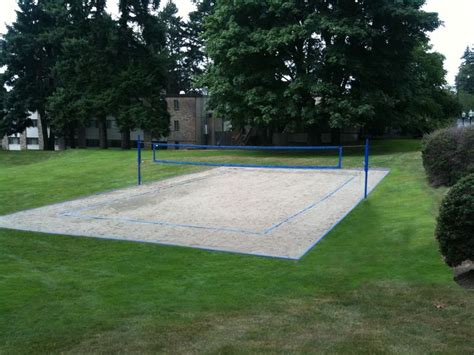 backyard sand volleyball court 15 exles of sand courts beachvolley info