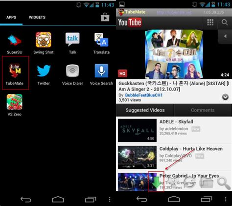 free downloader android tubemate apk tubemate downloader for android aazee