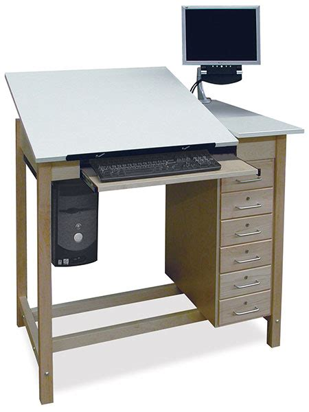 Drawing Desk by Hann Drafting Tables Blick Materials