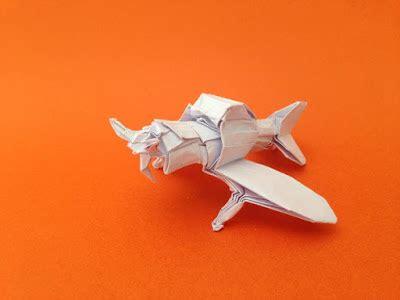 Fighter Plane Origami - joeorigami origami zero fighter