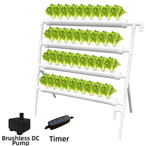 weplant hydroponic nft  holes growing system