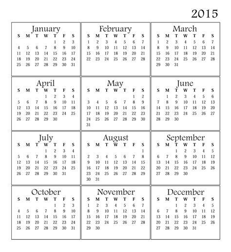 xerox printable calendar 2015 find calendar