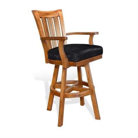 sunny designs swivel bar stool sedona w back su 1883ro sunny designs sedona 30 quot slat back swivel bar stool in