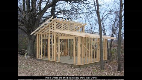Storage Shed House Plans