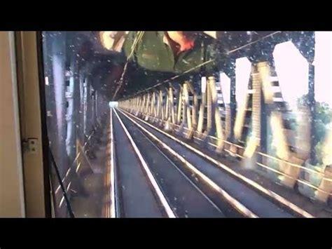 pavia genova treno cab ride genova sul treno mare real audio
