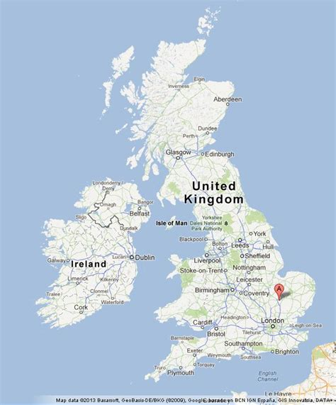 map uk cambridge cambridge on uk map