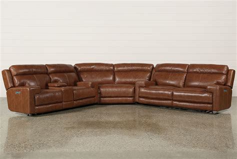 3 piece reclining sofa waylon 3 piece power reclining sectional living spaces